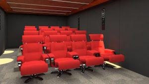 Projeto de Cinema Residencial